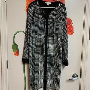 Michael Kors Women's dress black & white